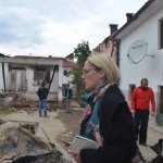 A day after a shootout which erupted during a police raid between police forces and an armed group identifying as the National Liberation Army (NLA) occurred on 9 May 2015 in the northern Macedonian town of Kumanovo