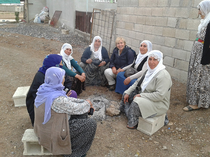 Kurdistan iracheno, tra donne curde, agosto 2014